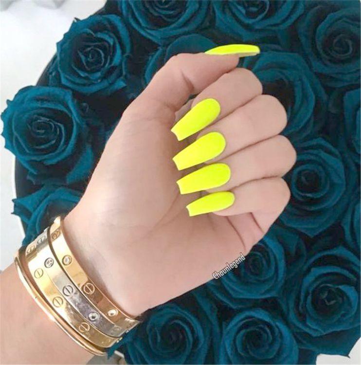 JINDIN 24 sheet Matte Short Oval Fake Nails Beauty Small