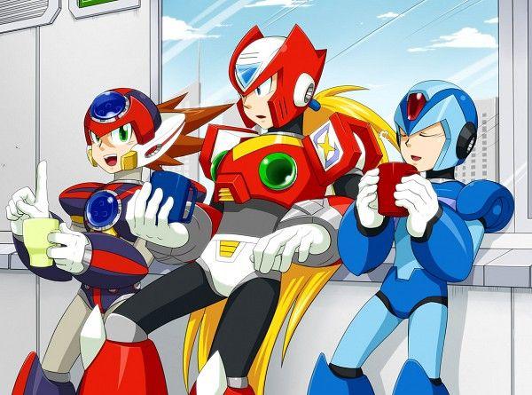 Coffee Break With X Zero And Axl Mega Man Art Mega Man Anime