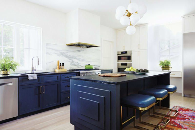 The Best 10 Blue Paint Colors For Kitchen Cabinets Kitchen