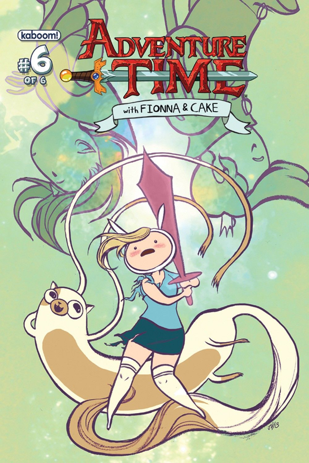 Adventure time with fionna and cake 6 covers released