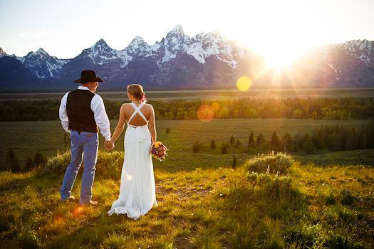 Spring Photography   Luxe Mountain Weddings Jackson Hole