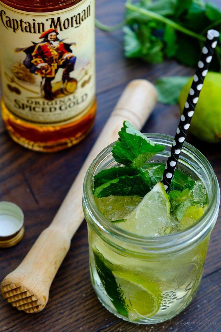 Rezept Spiced Mojito Rum Limetten Minze Soda Wasser Waseigenes Com Limetten Minze Mojito