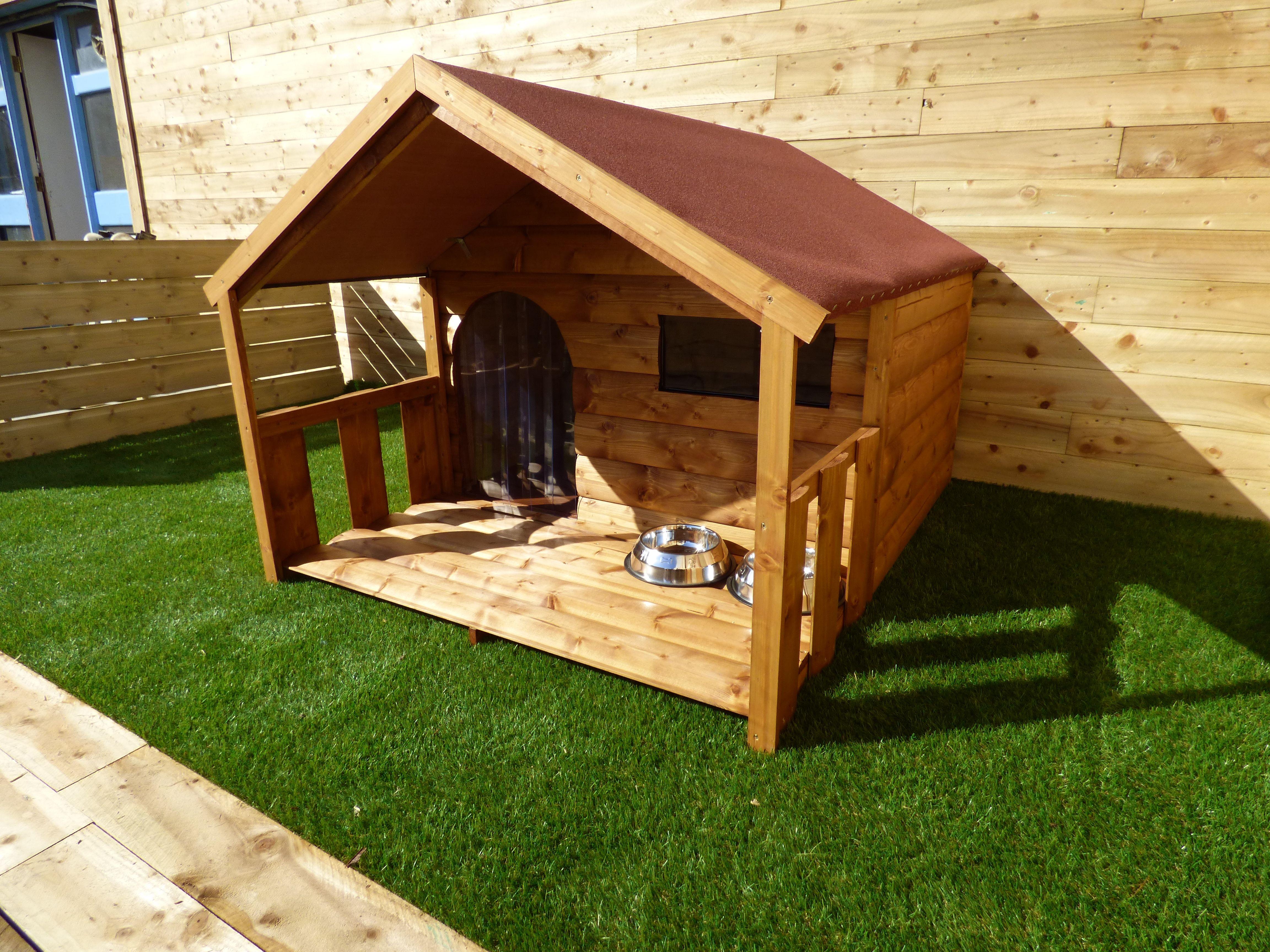 Large To Xlarge Dog Cabin Wooden Dog House Large Dog House