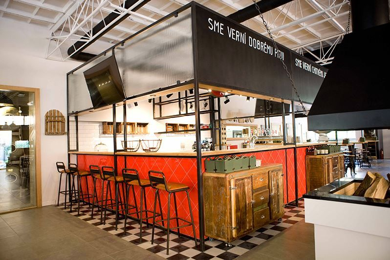 Zo samoobsluhy reštaurácia! #ASB #industrial #design #restaurant