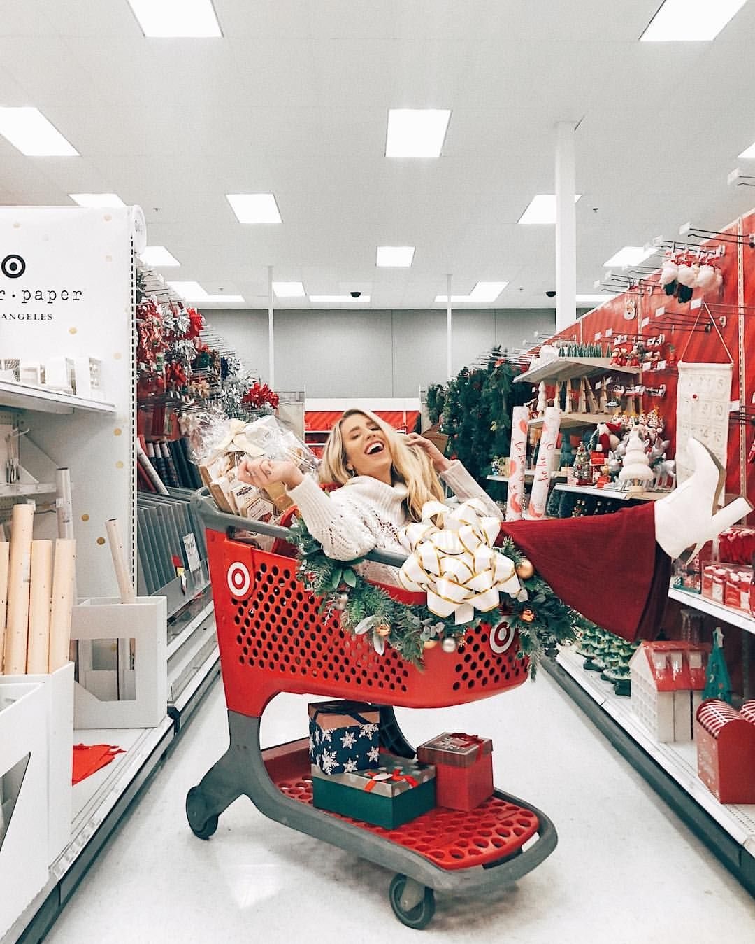 Target Photoshoot Ideas Target Obsessed Blogger Shoot Idea Christmas Photoshoot Christmas Aesthetic Cozy Christmas