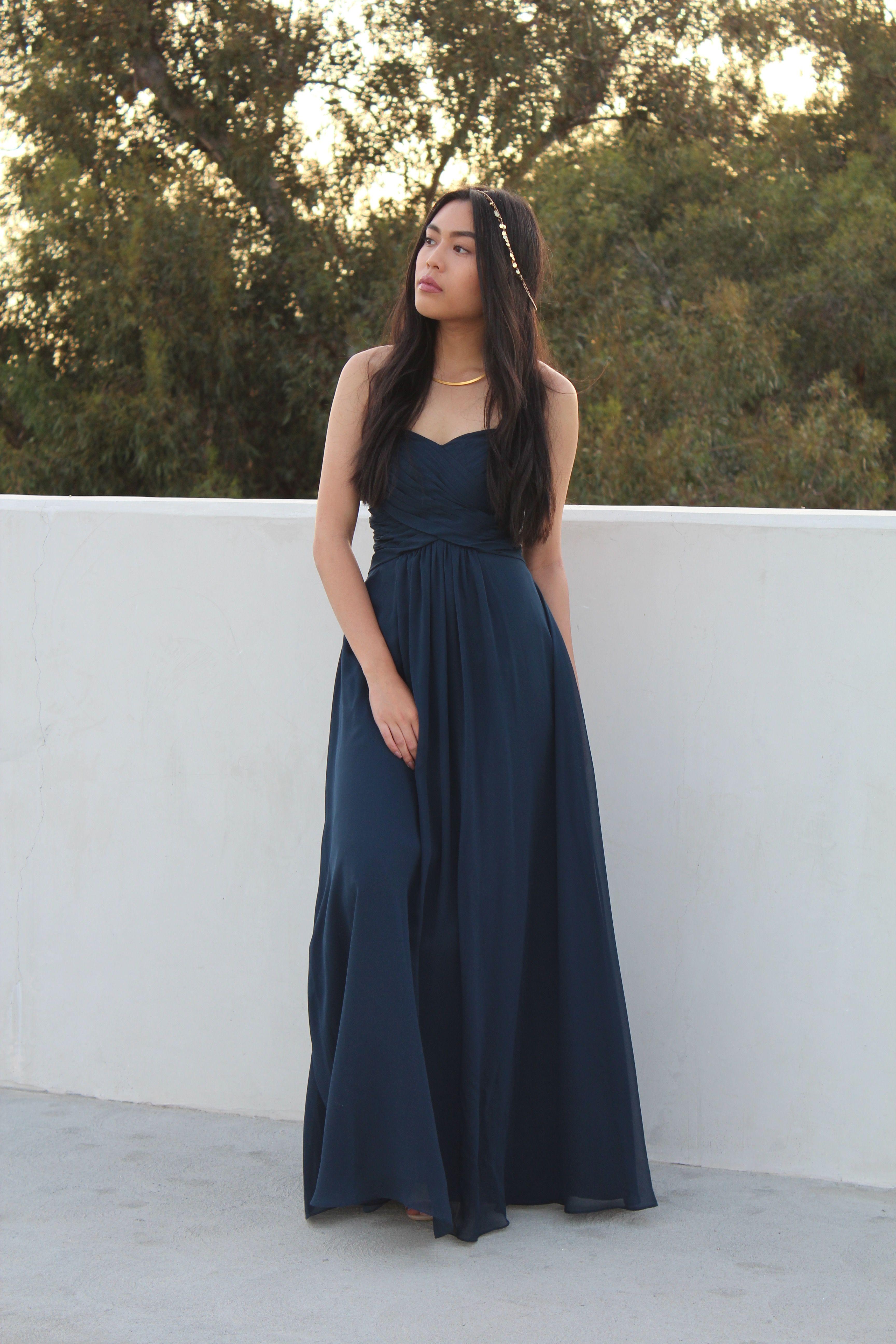 shop azazie bridesmaid dress yazmin in chiffon find the