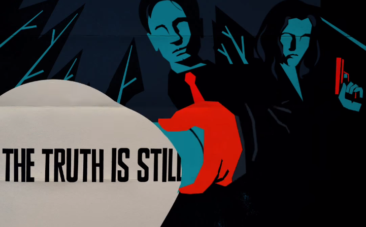 [Video] Check Out this Cool Animated Promo for 'The X-Files'
