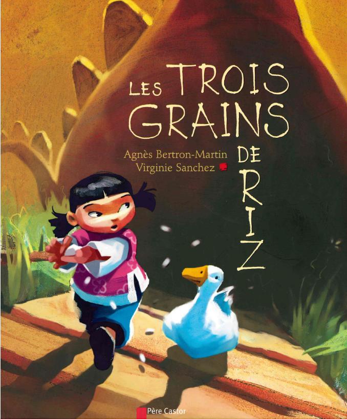 Les Trois Grains De Riz : trois, grains, Exploitation, Trois, Grains, Voyage, Chine,, Chine, Maternelle,, Grain