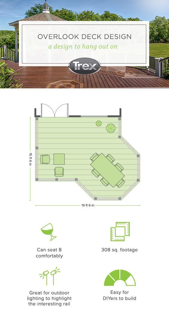 How To Build Your Deck Get Design Pricing Materials Trex Deck Design Plans Deck Building Plans Deck Furniture Layout