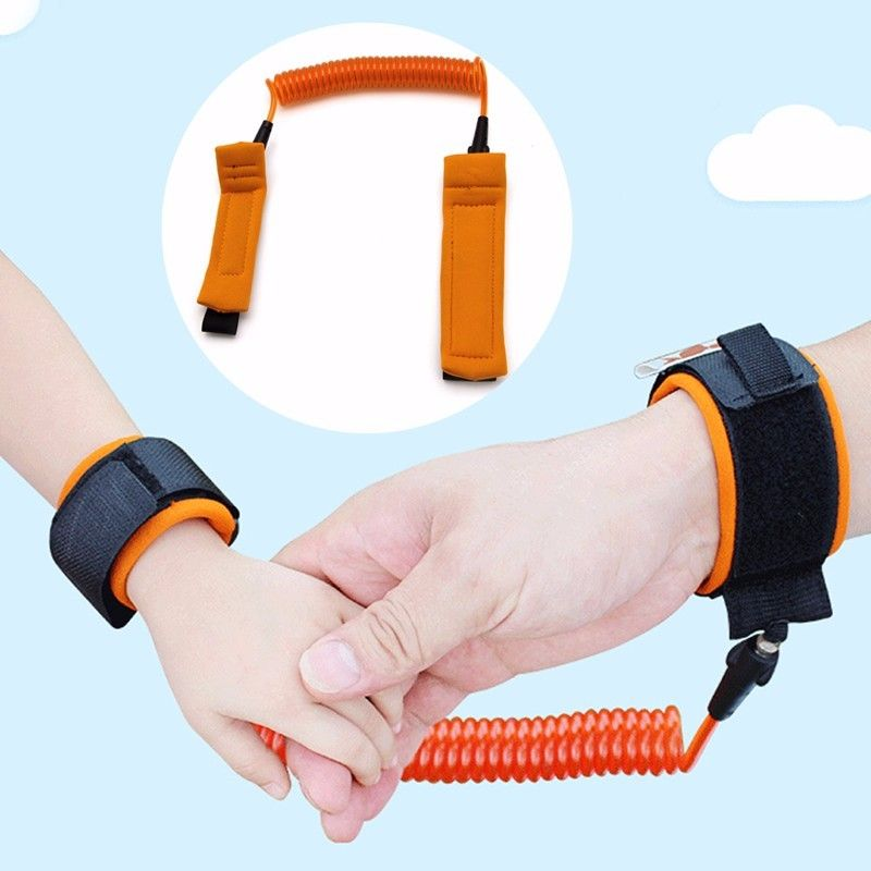 Children Kids Anti-lost Safety Leash Wrist Link Harness Strap Traction Rope