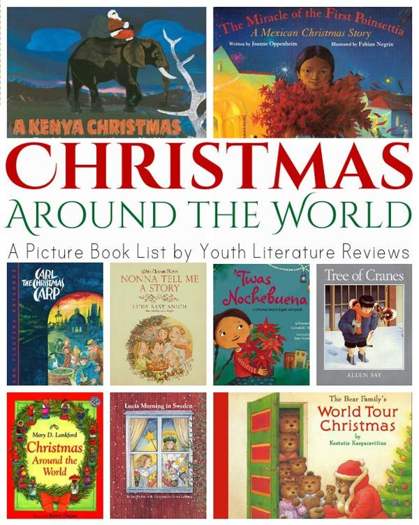 10 Christmas Books For Kids Christmas Crafts Kids Pinterest