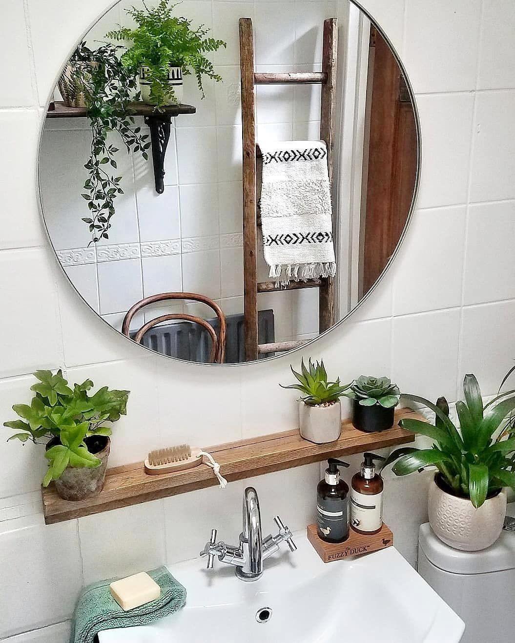 Haus Therapie On Instagram Bathroom Goals Right There Sixat21 Knows Haustherapie Bohemian Style Interior Boho Bathroom Decor Duck hunting bathroom decor
