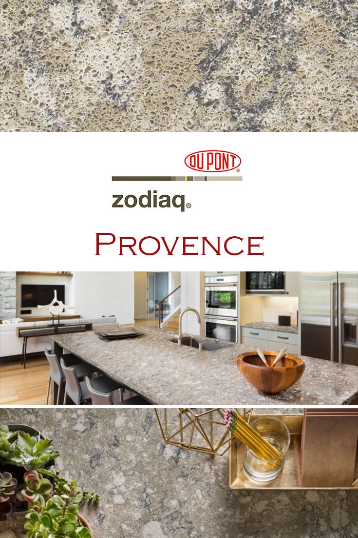 Provence By Zodiaq Is Perfect For A Kitchen Quartz Countertop Installation How To Install Countertops Quartz Kitchen Countertops Quartz Countertops