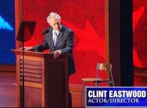 clint eastwood's invisible obama chair conversation.  :-)  http://politifreak.com/wp-content/uploads/2012/08/83df5__Clint1-300x221.jpg