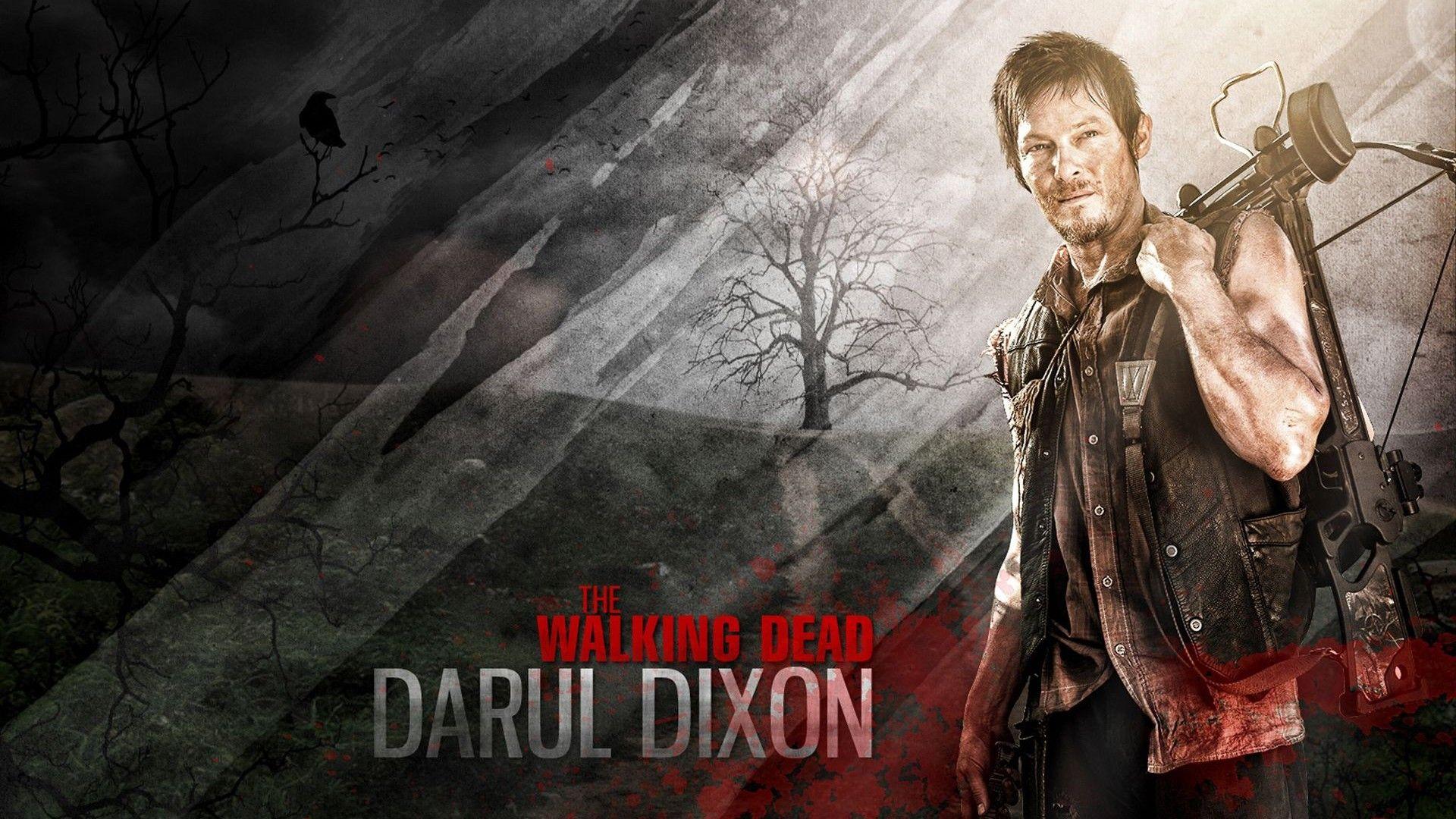 The Walking Dead Daryl Wallpaper