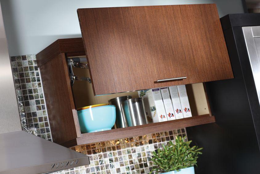 Lift Up Cabinet Doors & Storage | Dura Supreme Cabinetry | réno ...