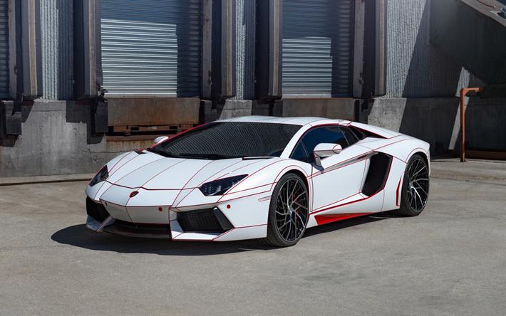 Lamborghini Aventador 2017 White