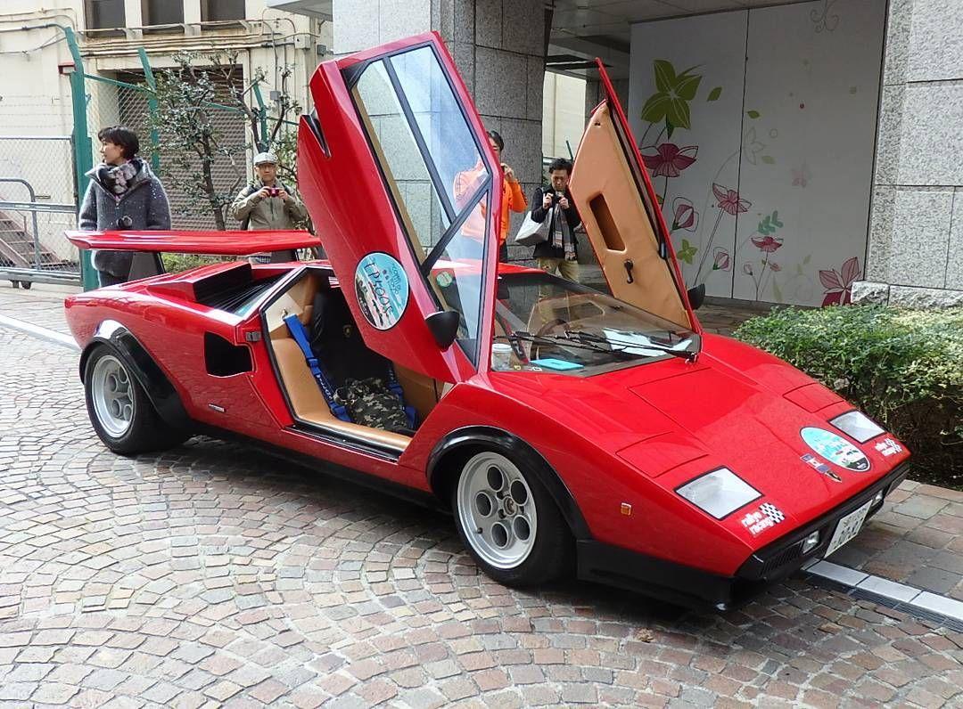 Mulpix Lamborghini Countach Lp500s Walter Wolf Countach Lambo