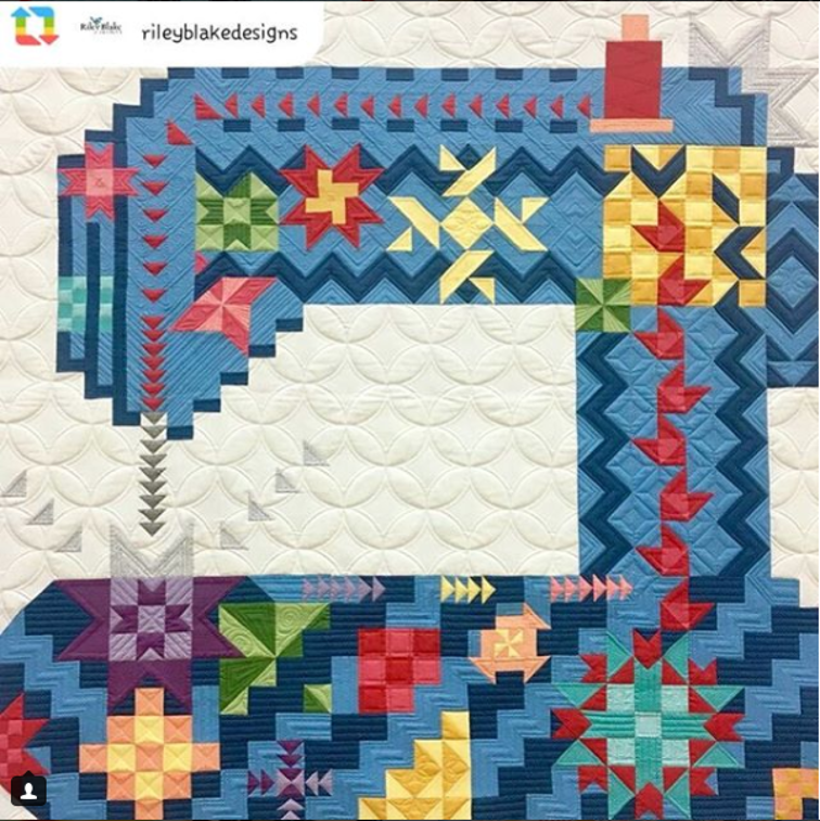 Sewing Machine Quilt Pattern