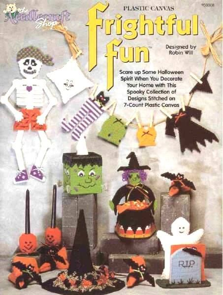 Pin by PAT RUSSELL on PLASTIC CANVAS - HALLOWEEN AND AUTUMN - patterns for halloween decorations