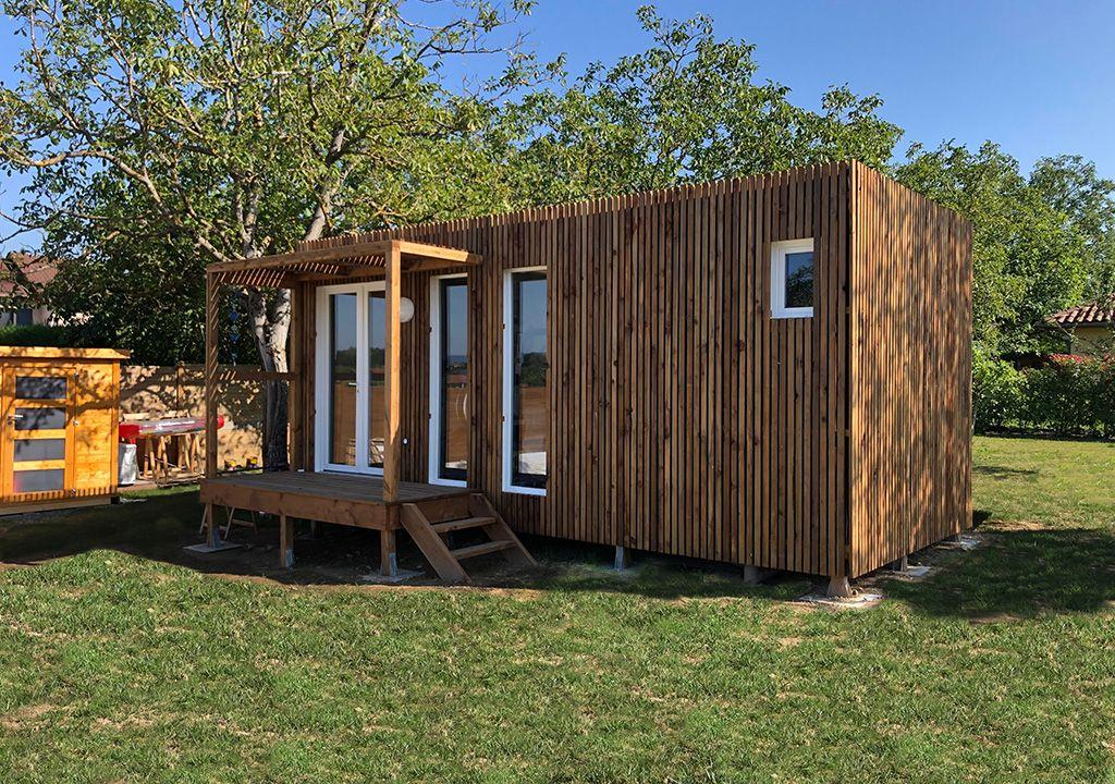 Un Studio De Jardin Greenkub Vous Permet De Gagner Jusqu A 30m2 De