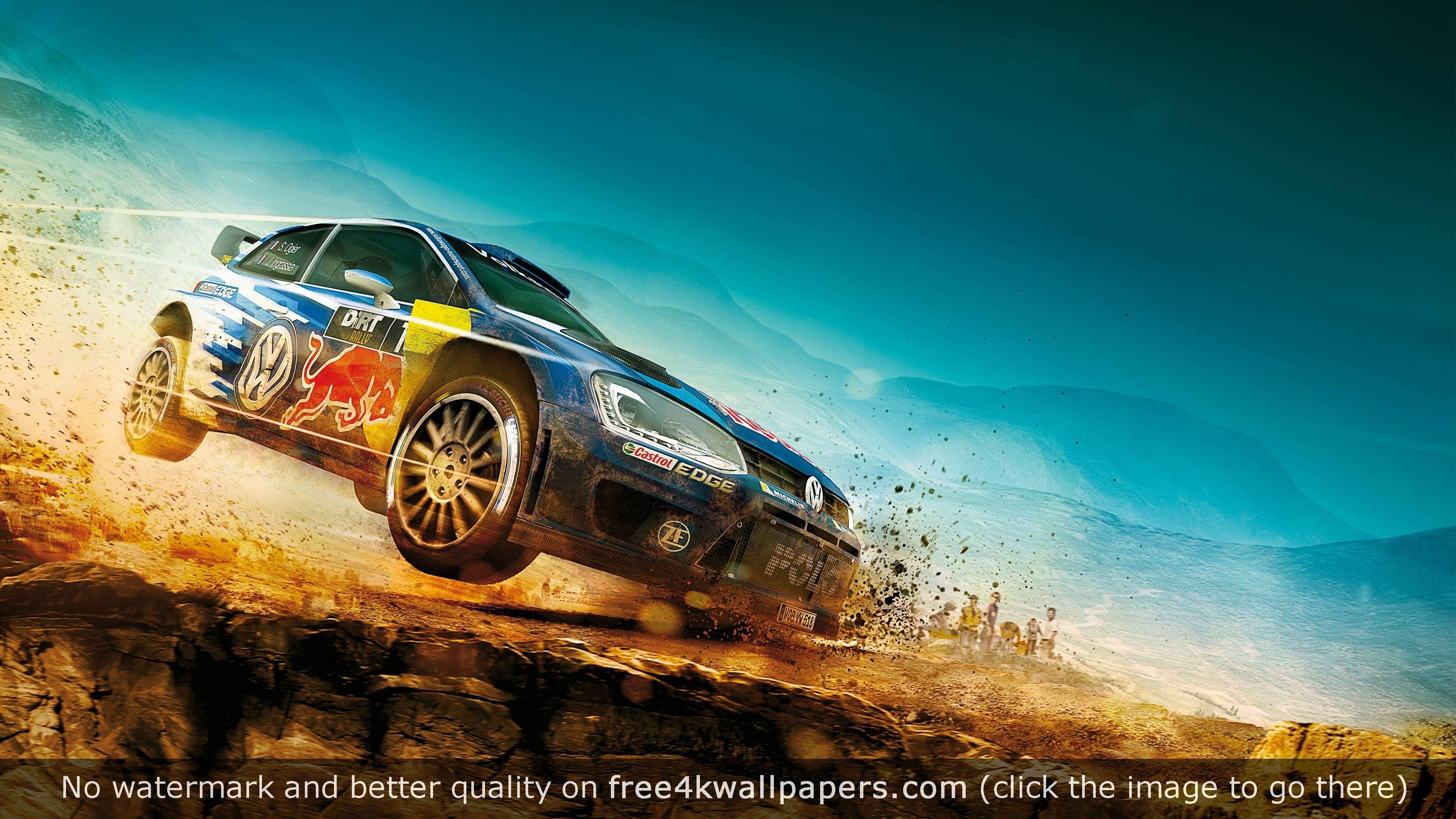Car Flying Dirt Race Most Amazing Ultra Hd 4k Wallpaper Racing Car Hd Wallpaper