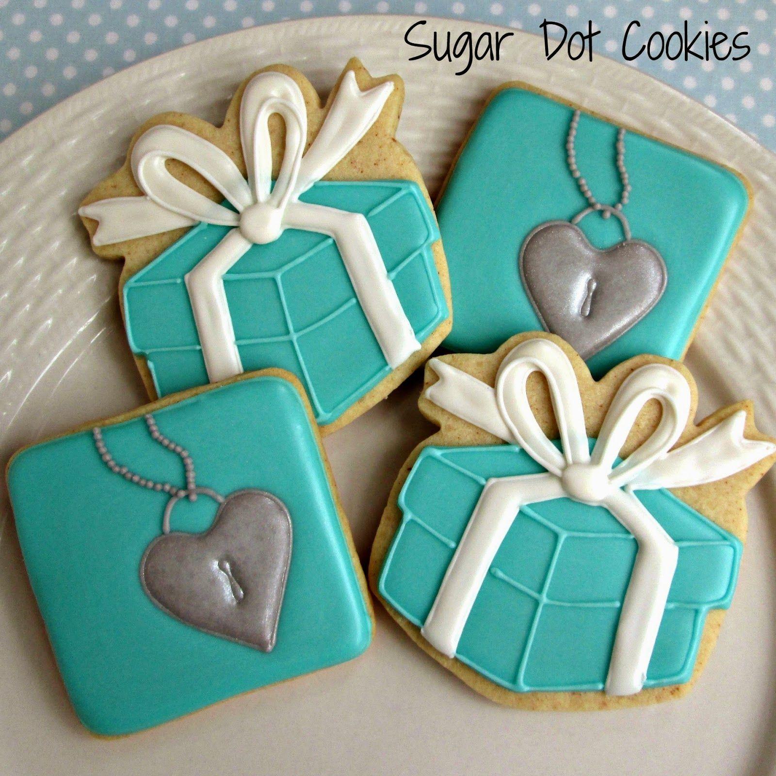 Jewelry Sugar Cookies The Heart Lockets Were Transfers