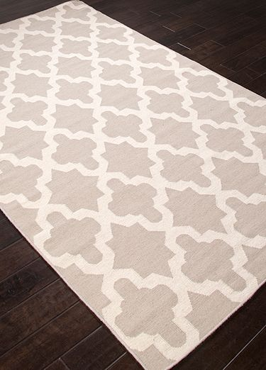 Wool Material Carpet In Gray Color