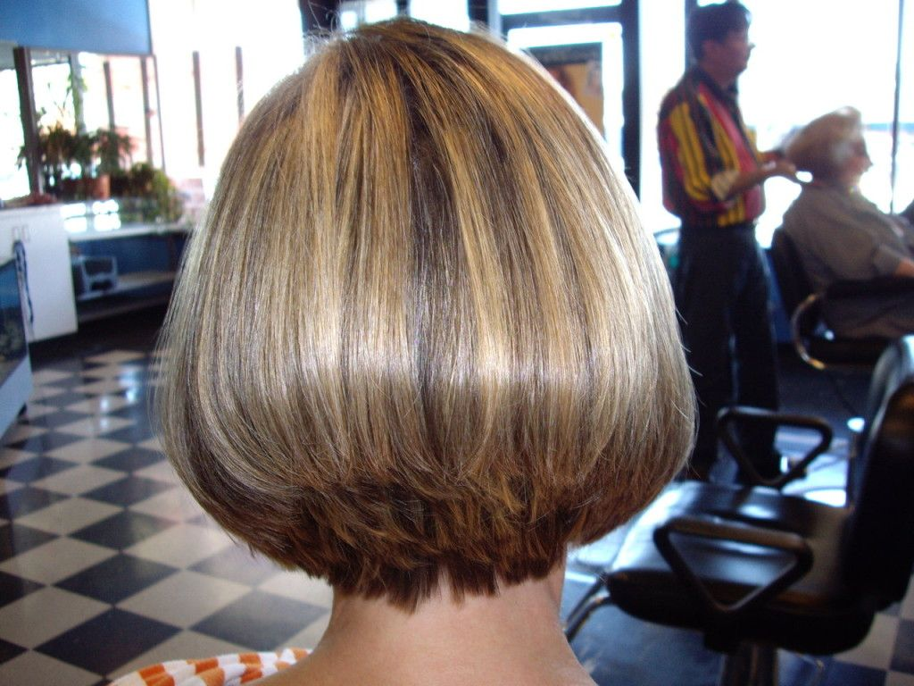 wedge haircut with stacked back | short hair styles stacked