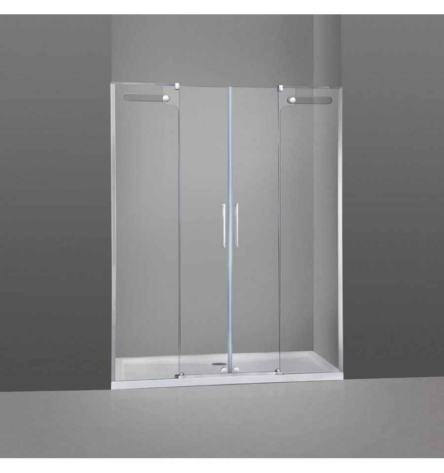 Mamparas De Ducha Y Ba O Modelo Vetrum Frontales De 2 Fijos M S 2  ~ Cristales Para Mamparas De Ducha