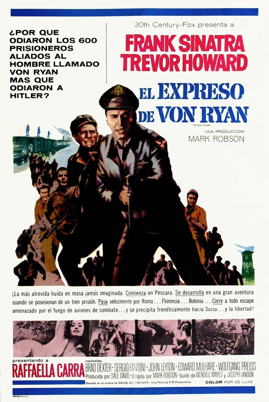 Movie Poster Von Ryans Express In 2018 Pinterest Movie
