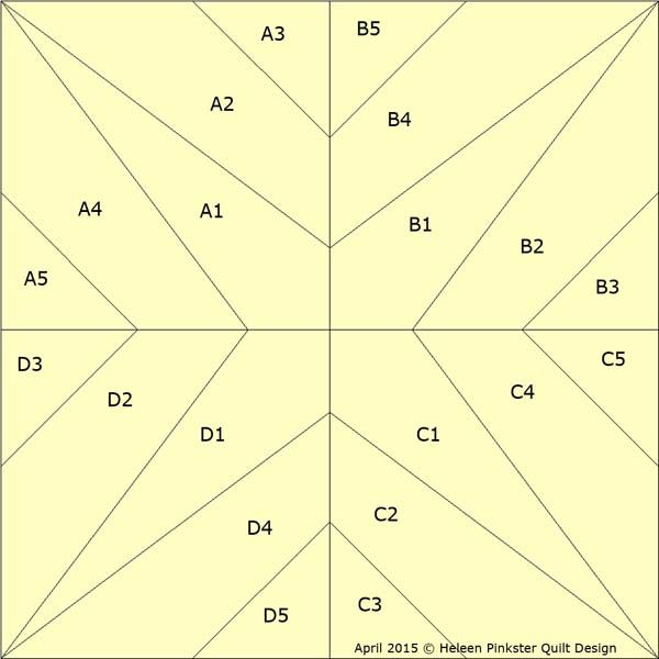 Patchwork patroon: Samen anders 5A