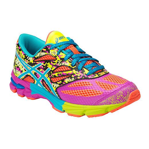Girls running shoes, Asics gel noosa