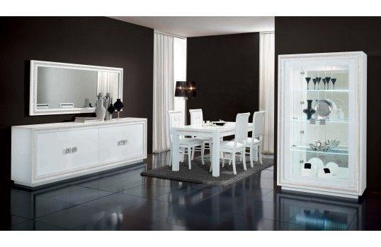 Salle à manger design Lux blanche | Asmaa | Home decor, Furniture ...