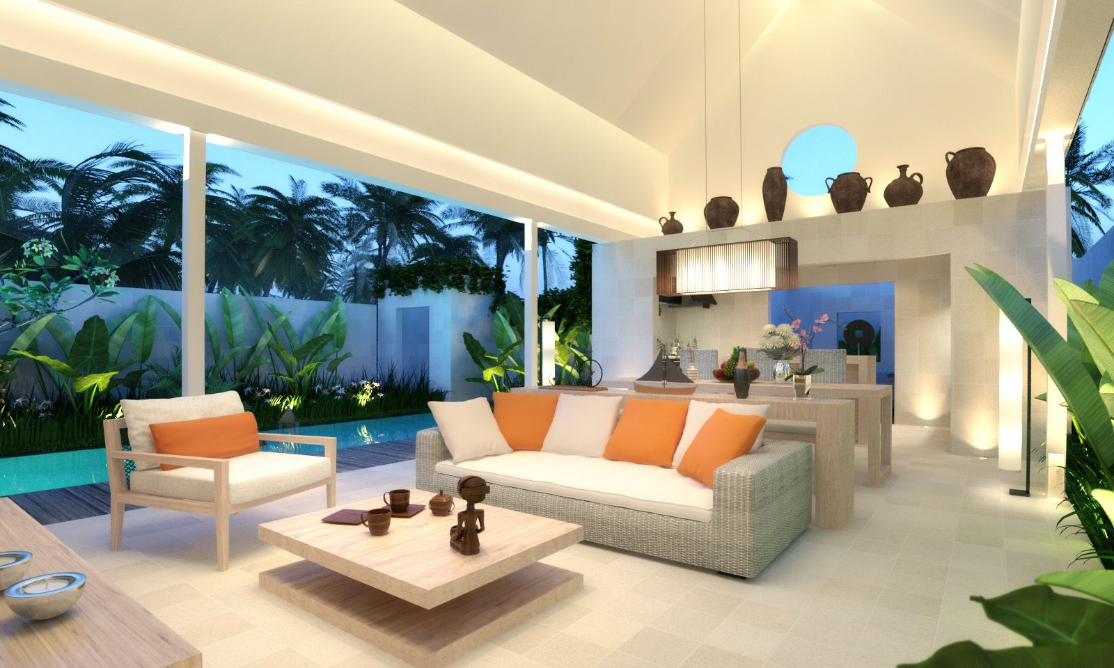 Sensational Modern Tropical Villa Bha Architect Villa Kawung Canggu Onthecornerstone Fun Painted Chair Ideas Images Onthecornerstoneorg