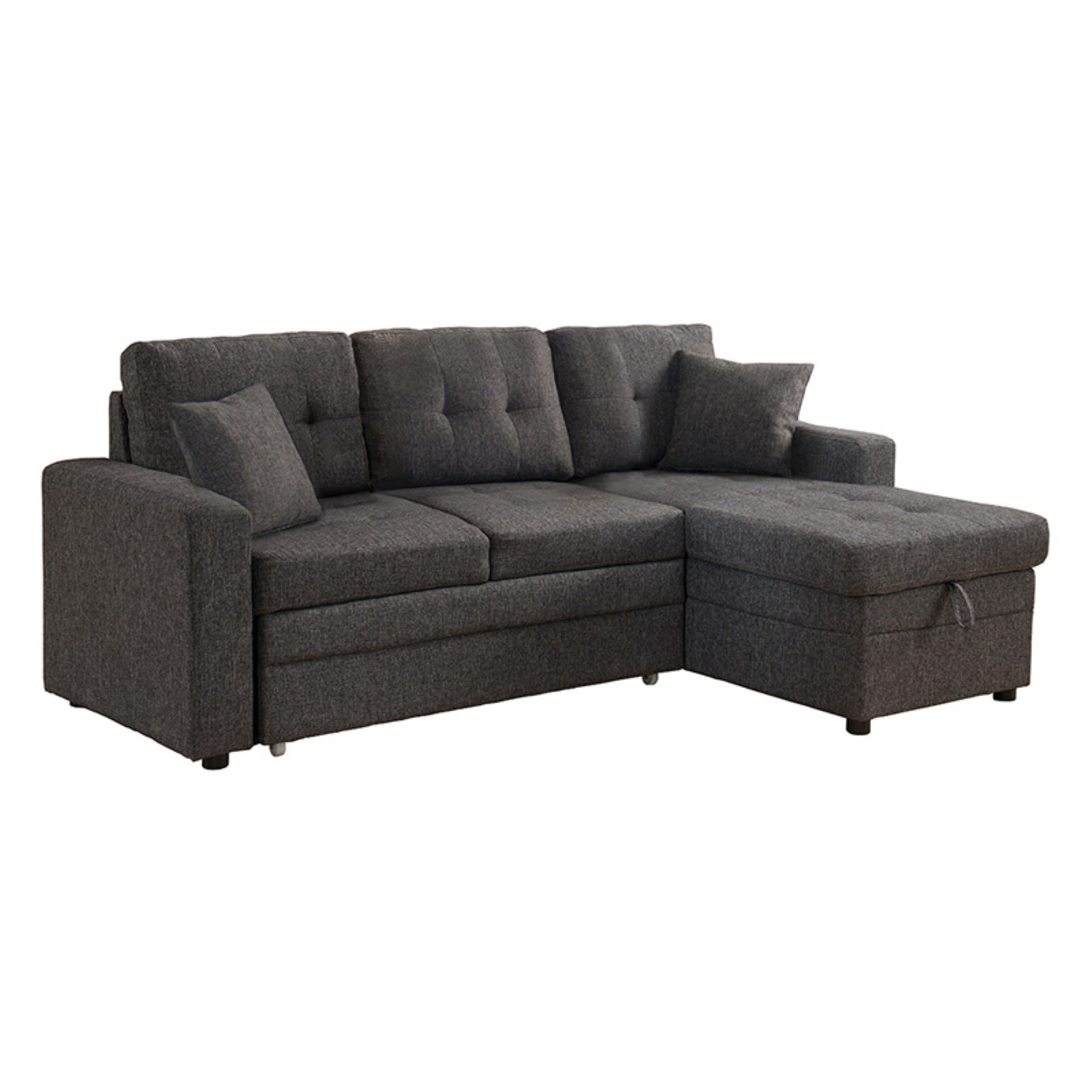 Milton Greens Stars Darwin Sectional Sofa With Storage And Pull Out Bed Gray Sectional Sleeper Sofa Cheap Couch Pull Out Bed