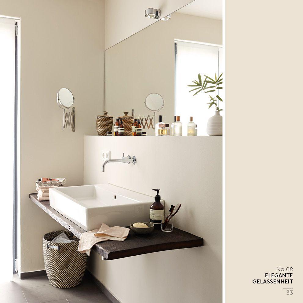 Brett Unter Dem Waschtisch Badezimmer Braun Feine Farben Badezimmer
