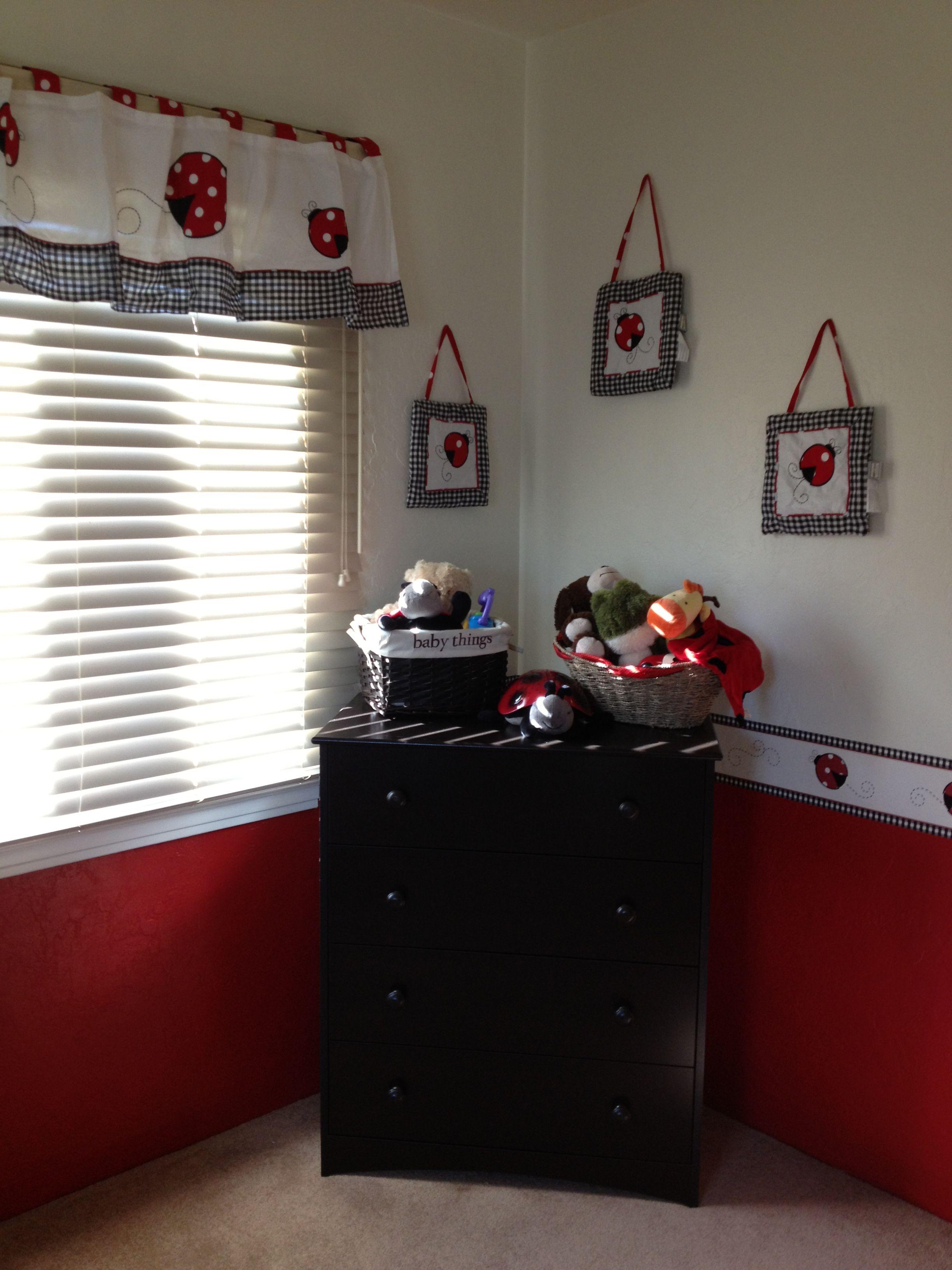 Ladybug Nursery Room