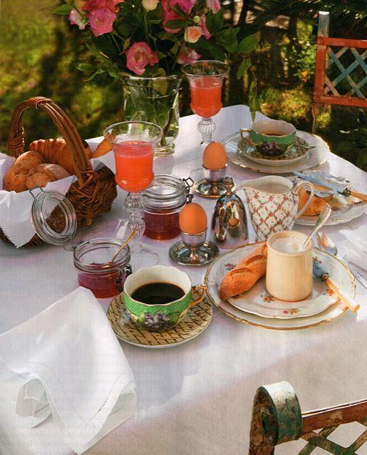 Rrantiques Via Rba Revistas In 2019 Breakfast Table