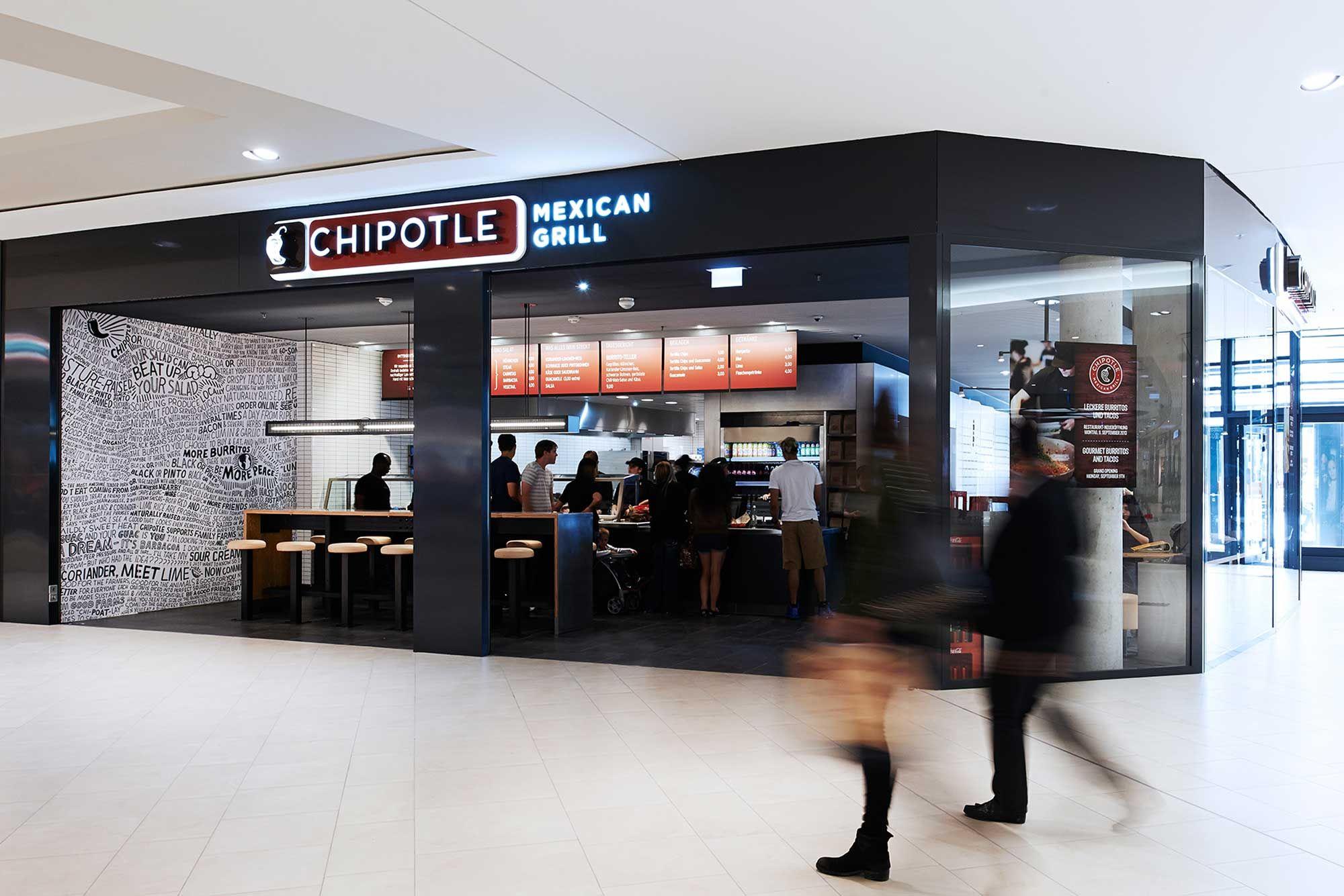 Die Firma Moysig Hat Dem Chipotle Restaurant In Frankfurt Am Main