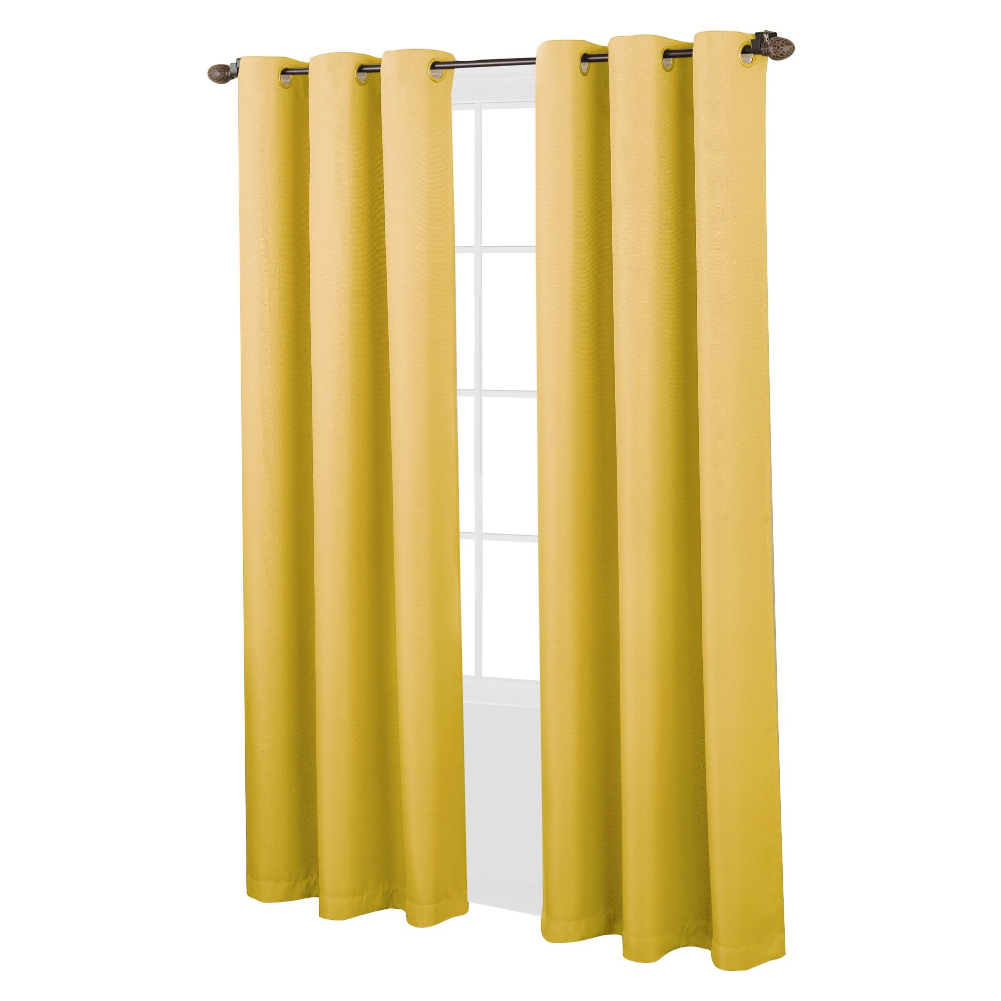 No 918 Montego 48 X 108 Grommet Top Curtain Panel Reviews