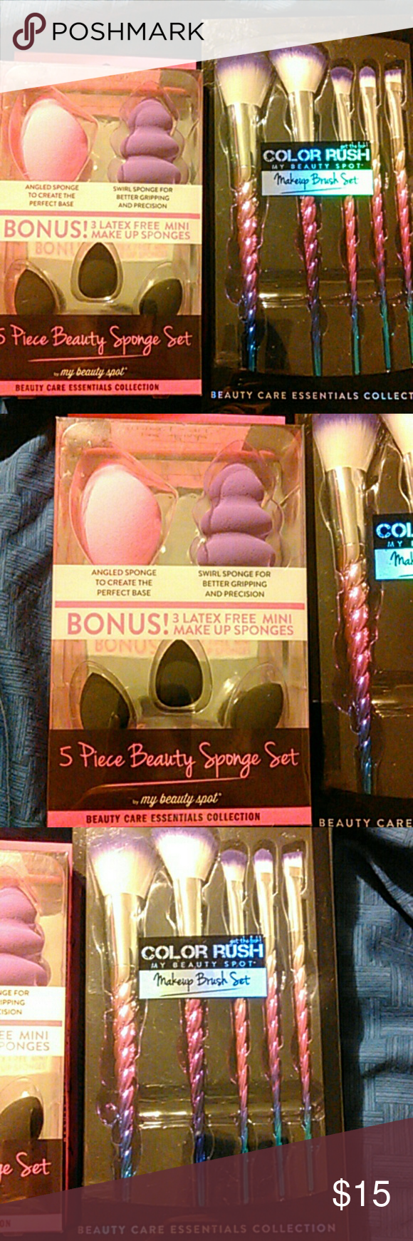 New Makeup brushes and Sponge Sets Beauty sponge