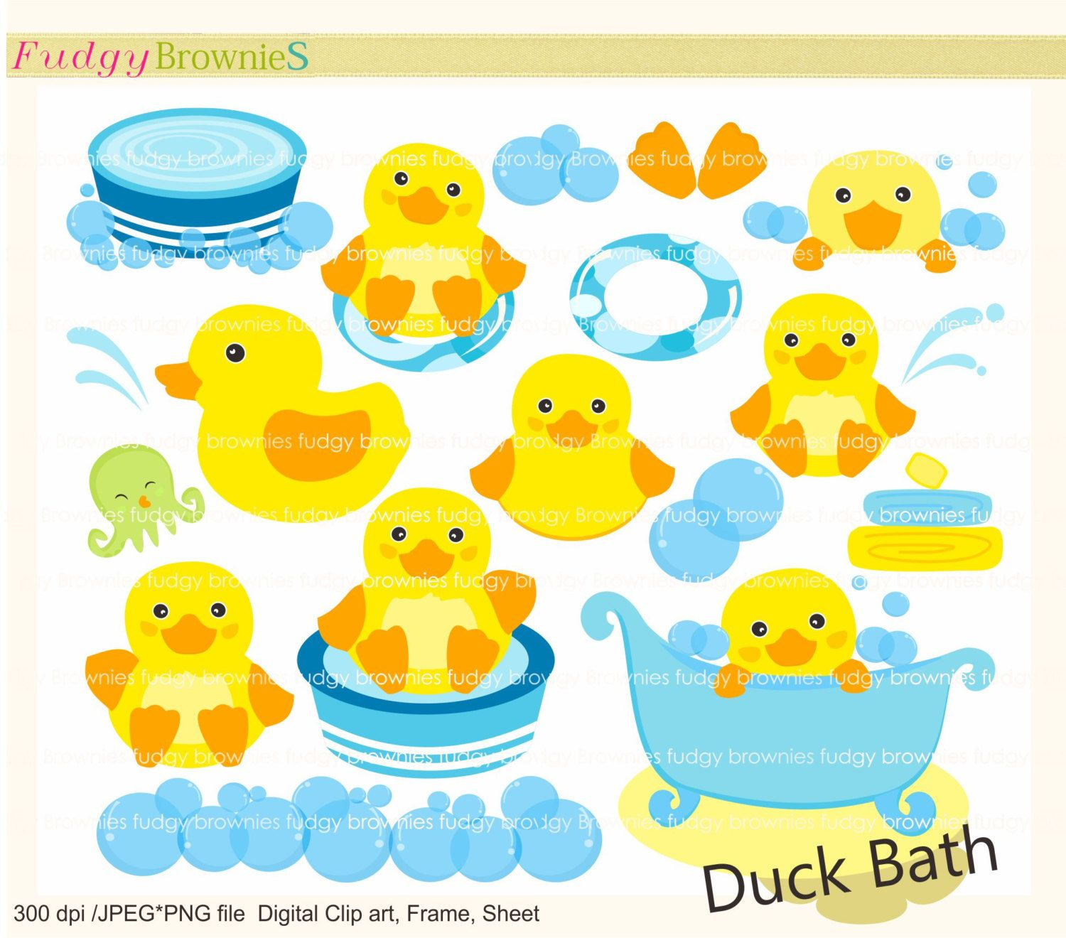 Cute Duck Clip Art | Duck clip art , Duck bath toy, for invites ...