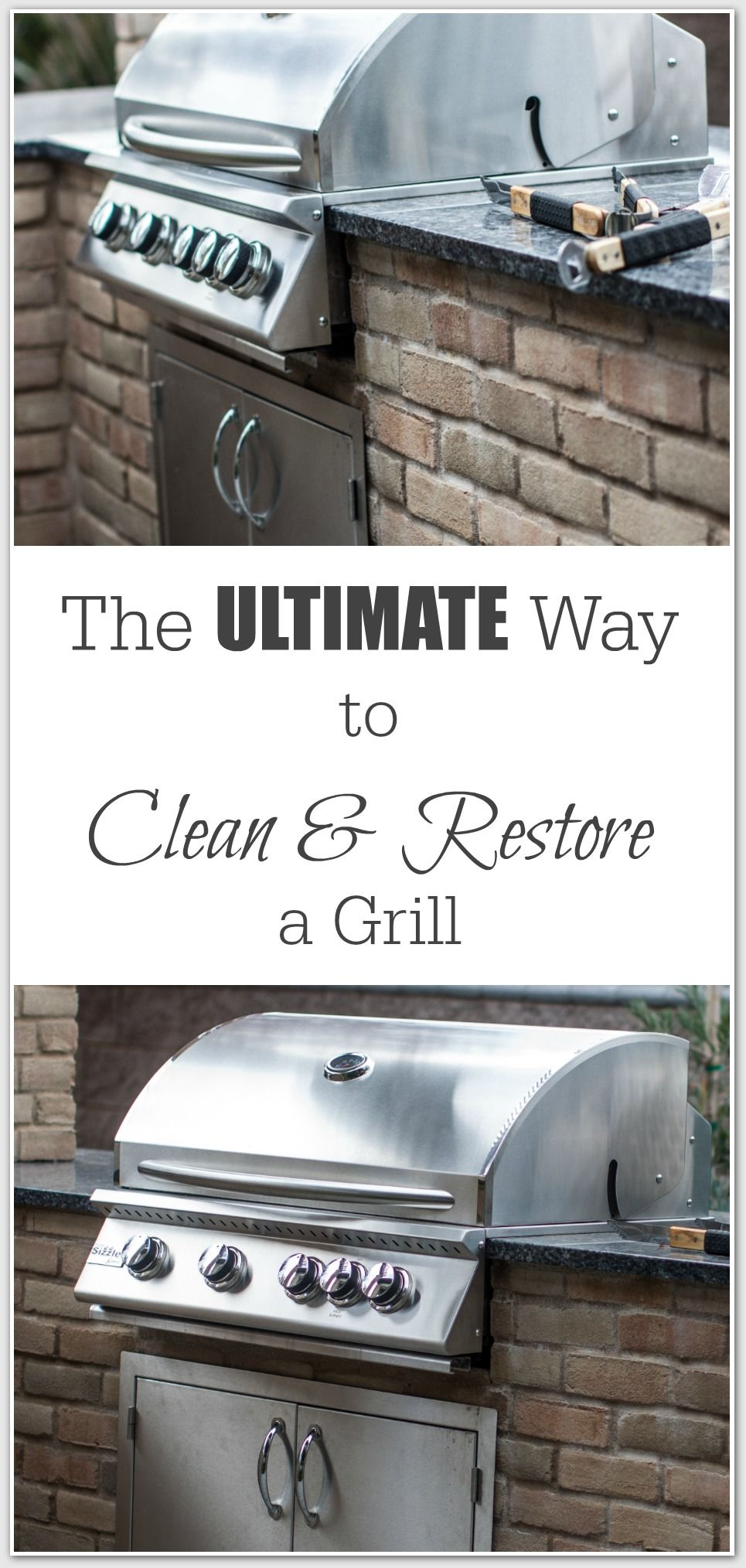 How To Clean Restore A Stainless Steel Grill Grilling