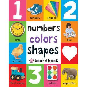 Numbers, Colors, Shapes... This is needed for young children.