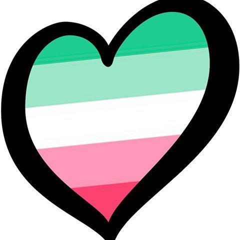 Abrosexual flag