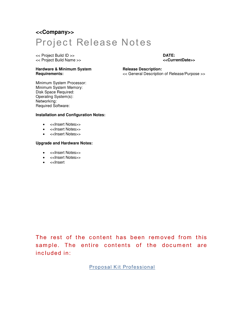 How To Write Your Own Project Release Notes Worksheet