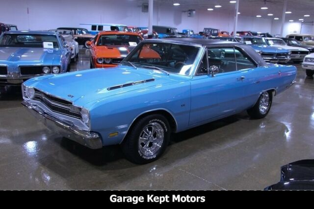 1969 Dodge Dart Gt Light Blue Coupe 273 V8 86431 Miles For Sale Photos Technical Specifications Description Dodge Dart Gt Dodge Dart Dodge