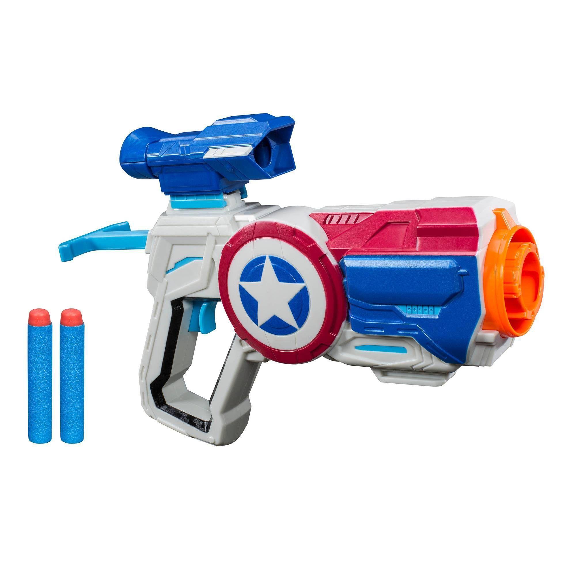 Marvel Avengers Endgame Nerf Captain America Assembler Gear