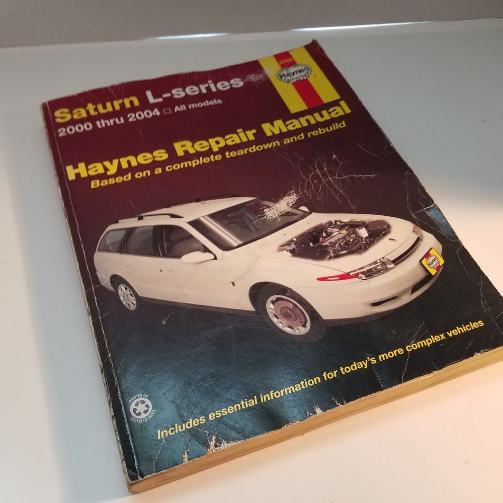 haynes repair manual 2000 thru 2004 saturn l series all models 87020 rh pinterest com 2001 Saturn L Series Manual 2001 Saturn L Series Manual